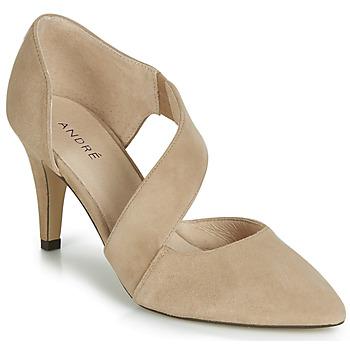 Sapatos Mulher Escarpim André SOIE Bege