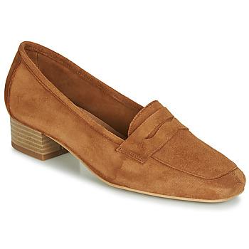 Sapatos Mulher Mocassins André SENLIS Camel