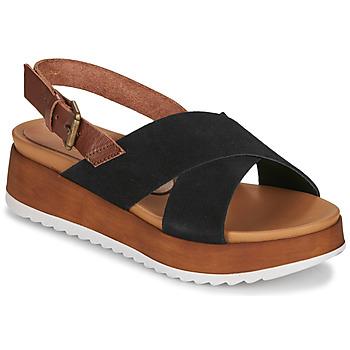 Sapatos Mulher Sandálias André REINE Preto