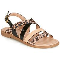 Sapatos Mulher Sandálias André RADJAH Leopardo