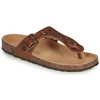 Sapatos Mulher Sandálias André RILA Camel