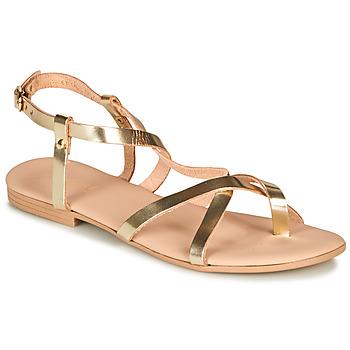 Sapatos Mulher Sandálias André RAFFOLE Ouro
