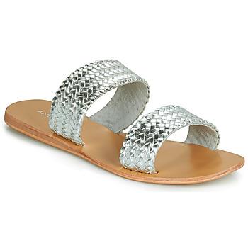Sapatos Mulher Sandálias André CHUPA Prata
