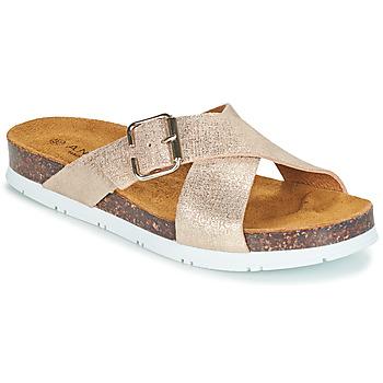 Sapatos Mulher Chinelos André RICKA Ouro