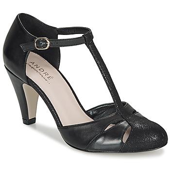 Sapatos Mulher Escarpim André CANCAN Preto