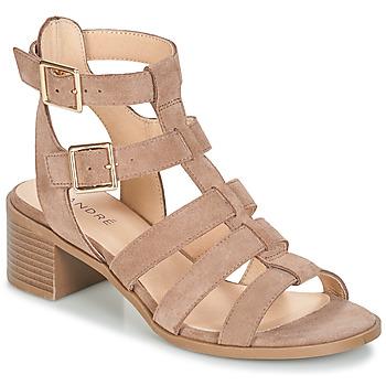 Sapatos Mulher Sandálias André REBELLE Bege