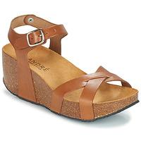 Sapatos Mulher Sandálias André HERA Castanho
