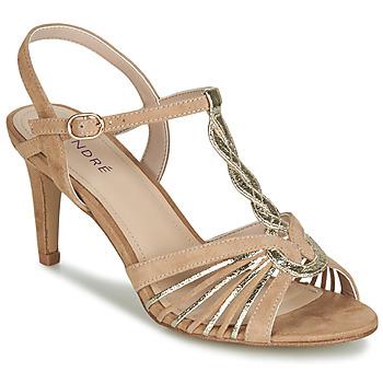 Sapatos Mulher Sandálias André CALECHE Bege