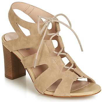 Sapatos Mulher Sandálias André ROMANESQUE Bege