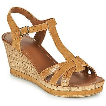 Sapatos Mulher Sandálias André ALOE Camel