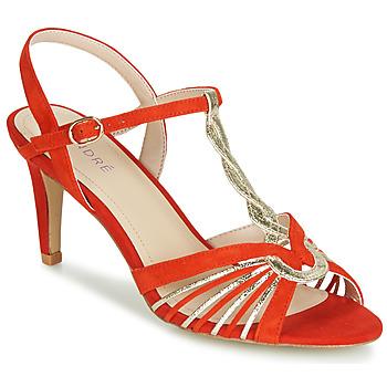 Sapatos Mulher Sandálias André CALECHE Vermelho