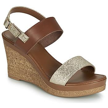 Sapatos Mulher Sandálias André RIMELLE Dourado