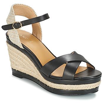 Sapatos Mulher Sandálias André SAND Preto