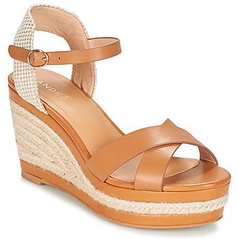 Sapatos Mulher Sandálias André SAND Camel