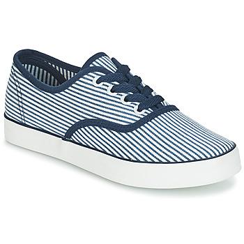 Sapatos Mulher Sapatilhas André STEAMER Azul / Branco