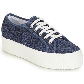 Sapatos Mulher Sapatilhas André SODA Azul