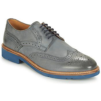 Sapatos Homem Sapatos André FLOWER Cinza / Azul