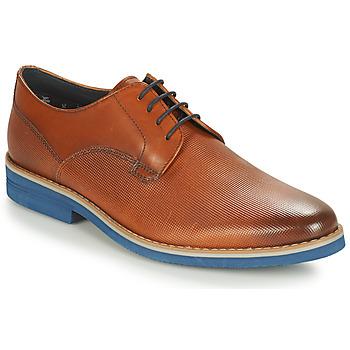 Sapatos Homem Sapatos André CANOE Conhaque / Azul