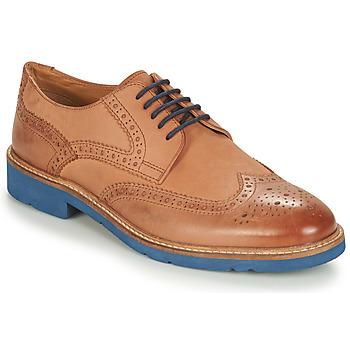 Sapatos Homem Sapatos André FLOWER Castanho / Azul