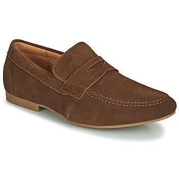 Sapatos Homem Mocassins André TONI Castanho