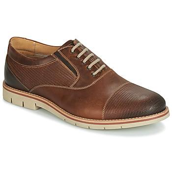 Sapatos Homem Richelieu André SIMPLY Castanho