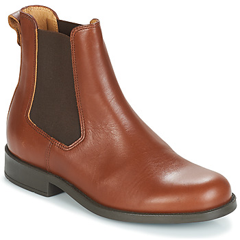 Sapatos Mulher Botas baixas Aigle ORZAC W 2 Conhaque