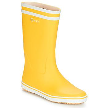 Sapatos Mulher Botas de borracha Aigle MALOUINE BT Amarelo