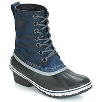 Sapatos Mulher Botas de neve Sorel SLIMPACK™ 1964 Azul / Preto