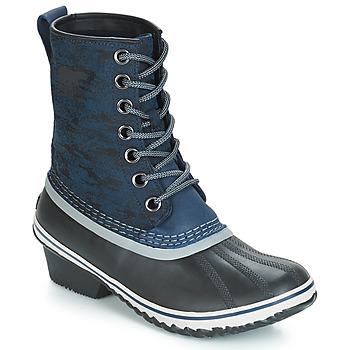 Sapatos Mulher Botas de neve Sorel SLIMPACK 1964 Azul / Preto
