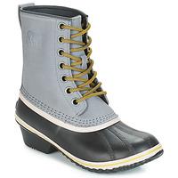 Sapatos Mulher Botas de neve Sorel SLIMPACK 1964 Cinza / Preto