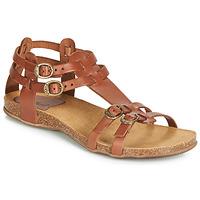 Sapatos Mulher Sandálias Kickers ANA Castanho
