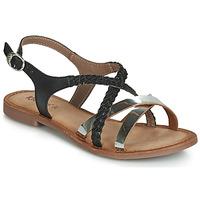Sapatos Mulher Sandálias Kickers ETHY Preto