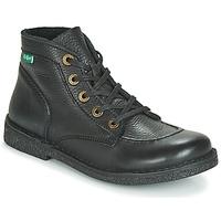 Sapatos Mulher Botas baixas Kickers LEGENDIKNEW Preto