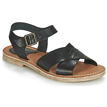 Sapatos Mulher Sandálias Kickers TILLY Preto