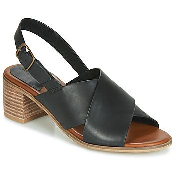 Sapatos Mulher Sandálias Kickers VICTORIANE Preto
