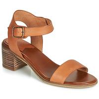 Sapatos Mulher Sandálias Kickers VOLOU Camel