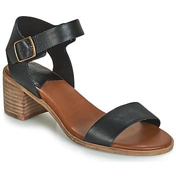 Sapatos Mulher Sandálias Kickers VOLOU Preto
