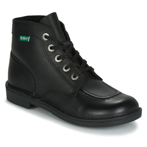 Sapatos Mulher Botas baixas Kickers KICK COL Preto