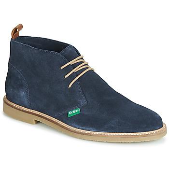 Sapatos Homem Botas baixas Kickers TYL Marinho