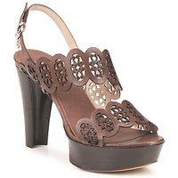Sapatos Mulher Sandálias Fabi PANAMA Castanho