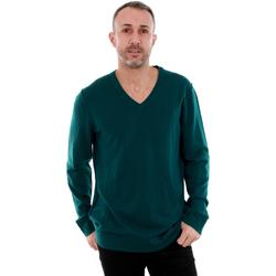Textil Homem camisolas Calvin Klein Jeans J3EJ300649 910 Verde