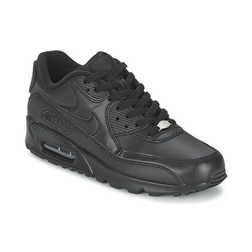 b40c3318141 Nike AIR MAX 90 Preto - Entrega gratuita com a Spartoo.pt ...