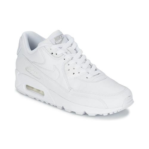Nike AIR MAX 90 Branco - Entrega gratuita com a Spartoo.pt ... c88dae6fe2b39