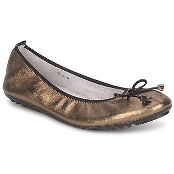 Sapatos Mulher Sabrinas Mac Douglas ELIANE Bronze / Preto / Verniz