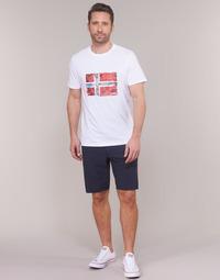 Textil Homem Shorts / Bermudas Napapijri NAKURO 2 Marinho