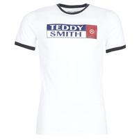 Textil Homem T-Shirt mangas curtas Teddy Smith TOZO Branco