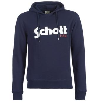 Textil Homem Sweats Schott HOOD Marinho