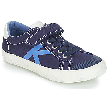 Sapatos Rapaz Sapatilhas Kickers GODY Marinho