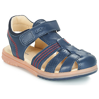 Sapatos Rapaz Sandálias Kickers PLATINIUM Marinho