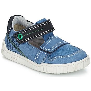 Sapatos Rapaz Sandálias Kickers WHATSUP Azul